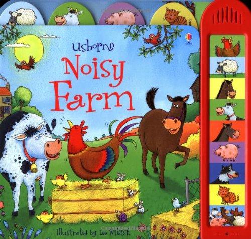 Noisy Farm (Usborne Noisy Books)