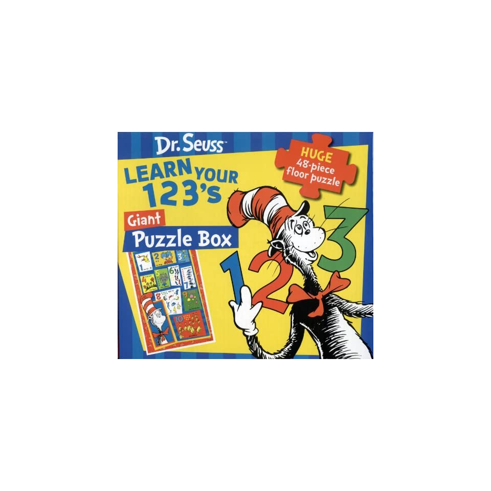 ce359284 Learn Your 1, 2, 3s With Cat in the Hat 48 Pieces Floor on PopScreen