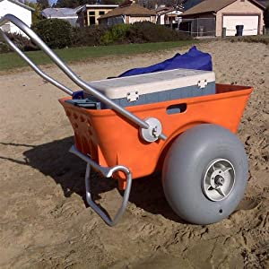 Heavy Duty Wheeleez Beach Cart by Wheeleez