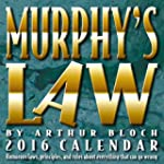 Murphy's Law 2016 Day-to-Day Calendar