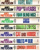 James Patterson Alex Cross: 8 book collection pack: rrp £63.92 (Pop Goes The Weasel / Mary, Mary / Cross / Four Blind Mice / Violets Are Blue / Cat and Mouse / Double Cross / London Bridges)