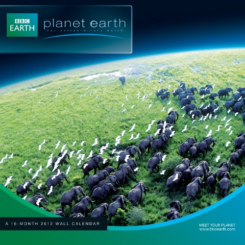 Planet Earth 2012 Wall Calendar