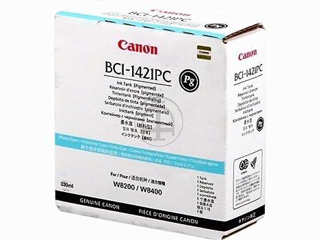 Canon Imageprograf W 8200 PG (BCI-1421 PC / 8371 A 001) - original - Ink cartridge bright cyan - 330ml