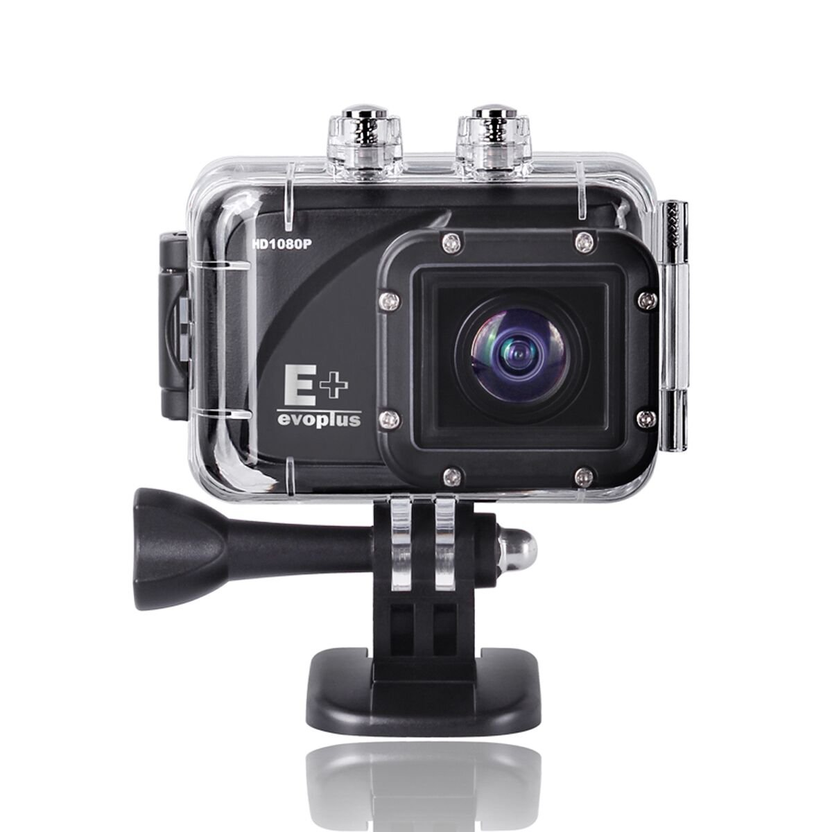 "Evoplus Mirage 60m Waterproof Underwater 1080p 1.5"" Hd Full LCD 12mp 170 Degree Wide-angle Lens Anti .."