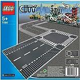 Toy - LEGO City 7280 - Gerade Stra�e und Kreuzung