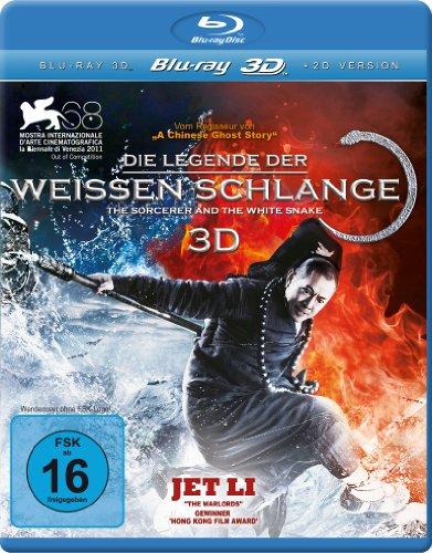 Die Legende der weißen Schlange 3D (inkl. 2D Version) [3D Blu-ray]