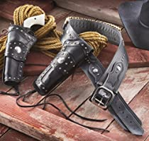 Widowmaker Western Ammo Belt and Right - handed Holster .44 / .45, 34