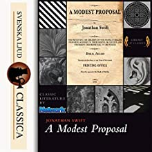 A Modest Proposal Audiobook by Jonathan Swift Narrated by John Gonzales