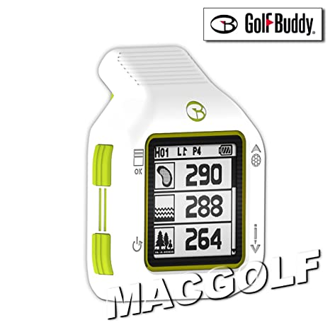 Golf Buddy CT2Télémètre GPS Blanc/Vert