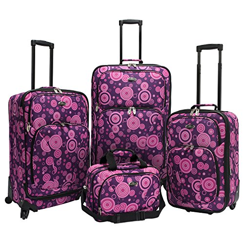 traverlers-choice-us-traveler-fashion-4-piece-spinner-luggage-set-purple-polka-dot-one-size