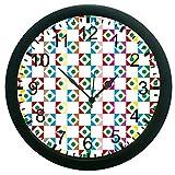 meSleep Geometric Wall Clock (With Glass)