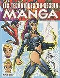 echange, troc Peter Gray - Les techniques du dessin manga