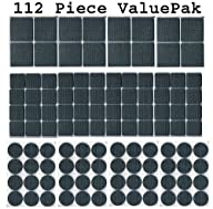 112 Piece Rubber Anti-Skid Pad Value…