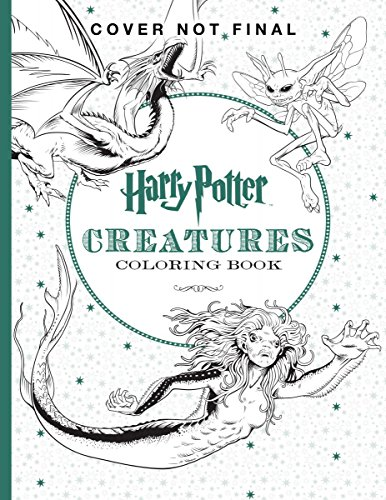 Harry Potter Creatures Coloring Book - Scholastic