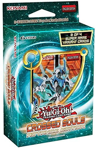 Yugioh Crossed Souls SE Advanced Edition Mini Booster Box - 3 booster packs + 2 holos!! (Advance Yugioh compare prices)