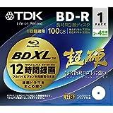 TDK Blu-ray Disc - BD-R XL 100GB 4X Speed 1 Pack Printable - Triple Layer