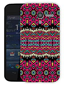 """Beautiful Aztec Tribal Pattern Printed Designer Mobile Back Cover For """"Motorola Moto X"""" By Humor Gang (3D, Matte Finish, Premium Quality, Protective Snap On Slim Hard Phone Case, Multi Color)"""