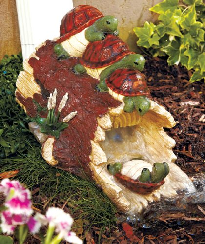 Turtle Downspout Water Slides