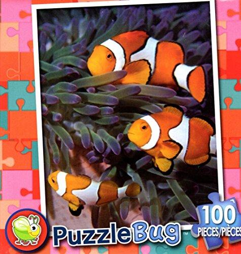 Puzzlebug 100 Piece Puzzle ~ Happy Clownfish - 1