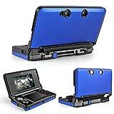 TNP 3DS Case (Blue) - Full Body Protective Snap-on Hard Shell Aluminium Plastic Skin Cover for Nintendo 3DS 2011 Model (Color: Blue)