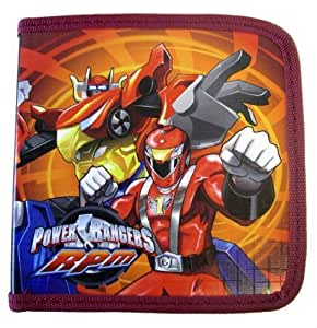 Power Rangers RPM CD/DVD Holder - Bandai Power Rangers RPM CD/DVD Case (colors may vary)