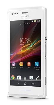 "Sony Xperia M - Smartphone Android Yoigo débloqués (écran 4 "", appareil photo 5 MP, 4 Go, 1 GHz, 1 Go de RAM), Blanc"