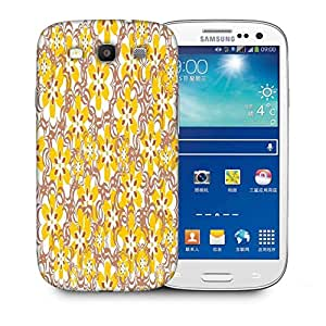 Snoogg Yellow Flowers Designer Protective Phone Back Case Cover For Samsung Galaxy S3