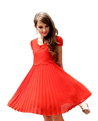 skater dress with sleeves