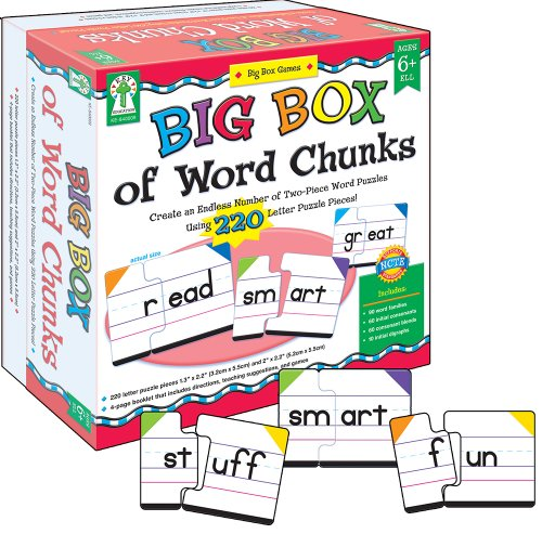 Key Education Big Box of Word Chunks Educational Board Game (Education Board Games compare prices)