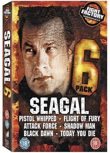 Seagal Six Pack Collection (Today You Die/Black Dawn/Flight of Fury/Shadow Man/Attack Force/Pistol Whipped) [DVD] [2008]