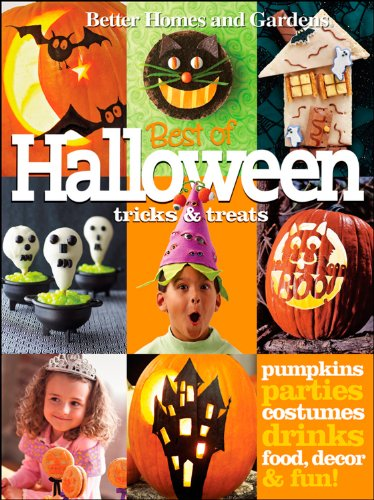 Halloween Tricks & Treats (Better Homes and Gardens) (Better Homes and Gardens Cooking) by Better Homes and Gardens