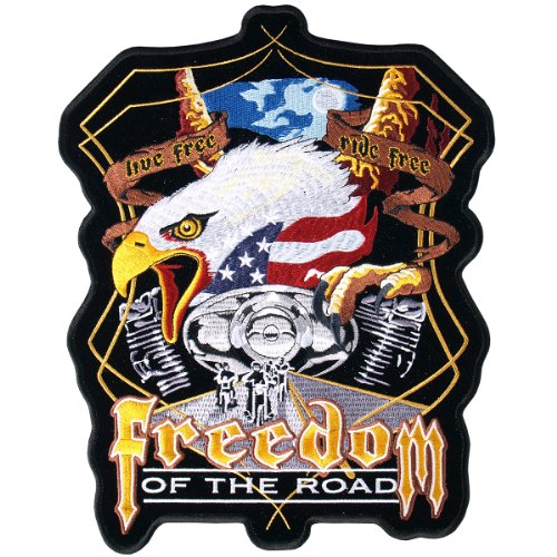 Hot Leathers Midnight Eagle Biker Patch (5