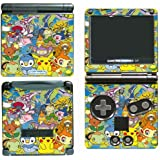 Pokemon Friends Pikachu Dialga Selfie Go Video Game Vinyl Decal Skin Sticker Cover for Nintendo GBA SP Gameboy Advance System