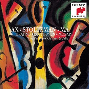 Clarinet trio in A minor, op. 114; Clarinet trio in B-flat major, op. 11; Clarinet trio in E-flat major, K. 498