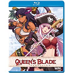 Queen's Blade Rebellion: Complete Collection [Blu-ray]
