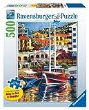 Ravensburger Exotic Harbor - 500 Pieces Large Format Puzzle