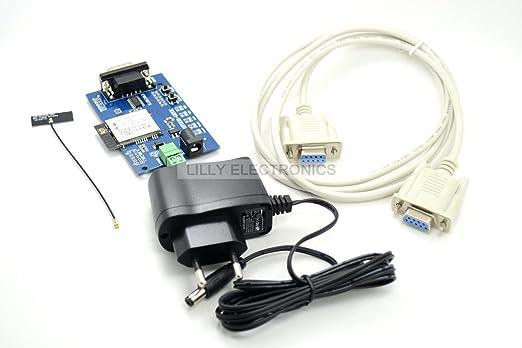 Kit de faible puissance Wifi Module évaluation simple usr-wifi232-gevk