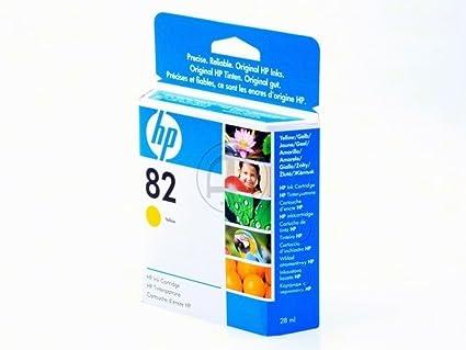 HP - Hewlett Packard DesignJet 500 E (82 / CH 568 A) - original - Ink cartridge yellow - 28ml