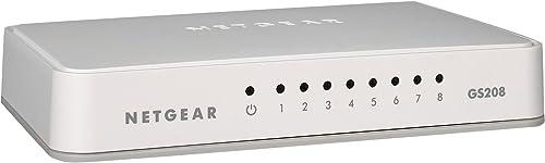 Netgear GS208 8-Port Gigabit Switch