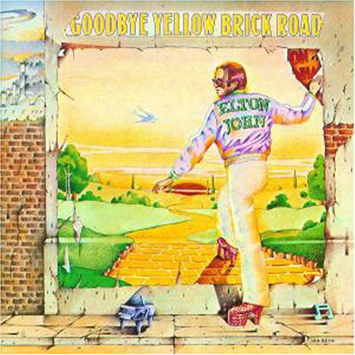 Original album cover of Goodbye Yellow Brick Road by Elton John