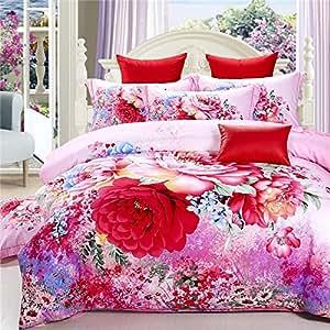 Amazon Com Ttmall Twin Full Queen Size 100 Cotton