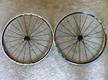 Mavic Aksium Wheelset with Logo and Tires and Tubes