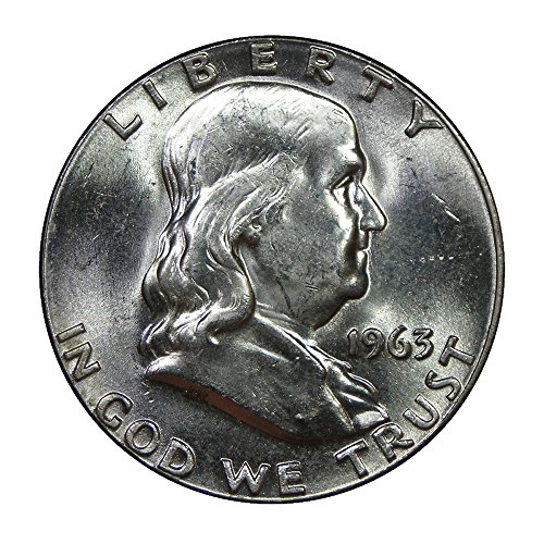1963 Franklin Half Dollar Mint State