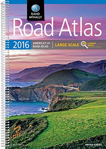 Rand McNally 2016 Large Scale Road Atlas (Rand Mcnally Large Scale Road Atlas USA)