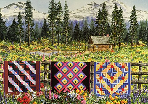 RoseArt A Quilted View Jigsaw Puzzle (1000-Piece) - 1