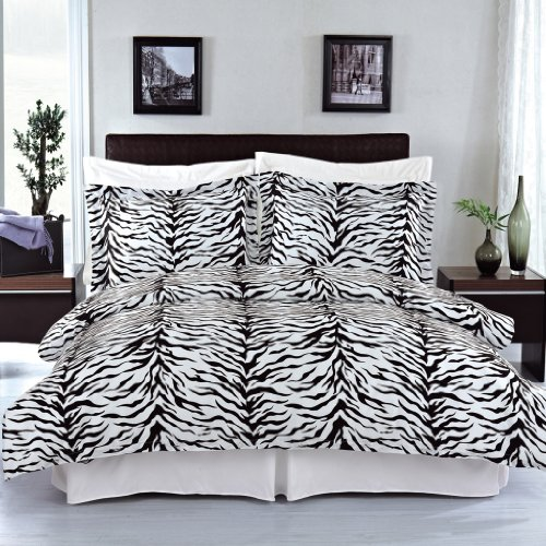Egyptian Bedding Zebra 100% Egyptian cotton King Size Duvet cover set