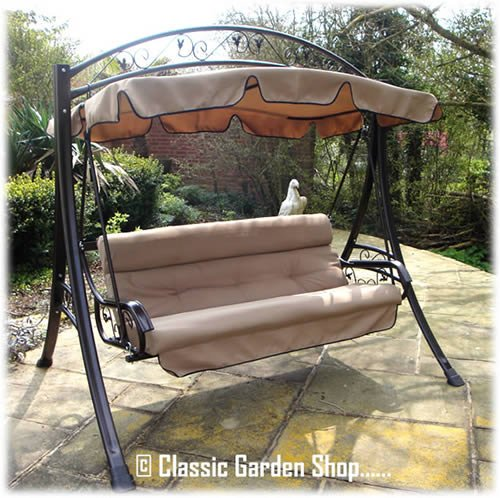 Luxury Rimini Garden Hammock Swing Seat 3 4 Seater From