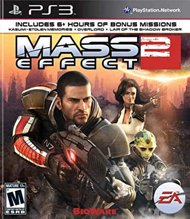 Mass Effect 2 by Electronic Arts Playstation 3 Game 014633365610