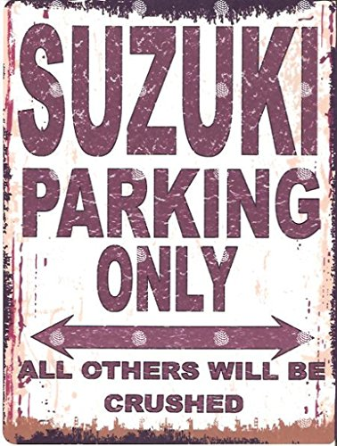 8x10in-suzuki-parking-sign-retro-vintage-style-8x10in-20x25cm-car-shed-tin-garage-workshop-wall-art