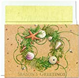 Beach Wreath - Tropical Beach Holiday Cards